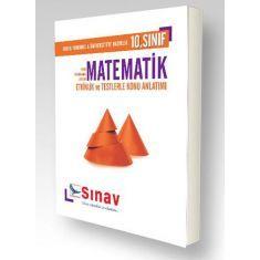 Sınav 10.Sınıf Matematik Etkinlik ve Testlerle Konu Anlatımı