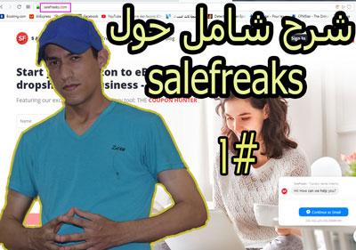 سلسلة العمل على الأنترنيت العدد 4: شرح شامل حول salefreaks الدرس الاول