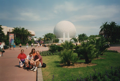 Epcot Disney World in 1997