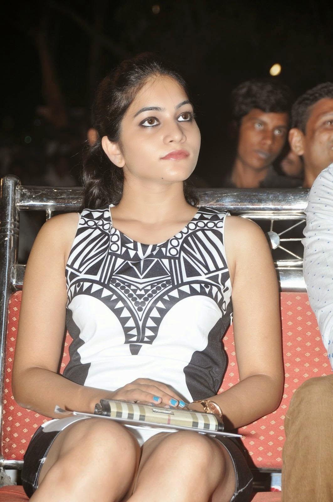 Actress Poornavi Hot Panty Show Stills - Cine Gallery