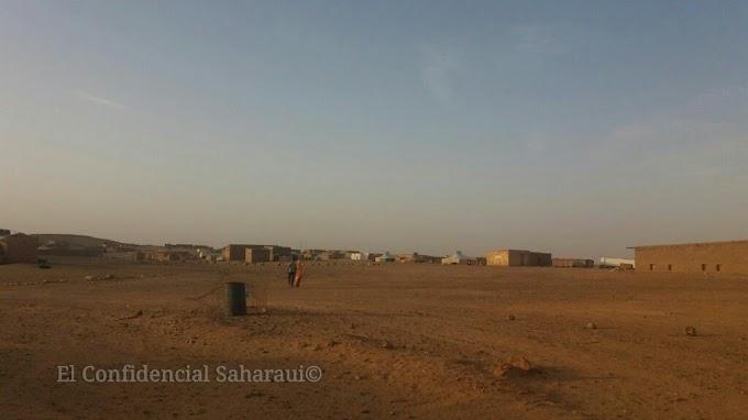 Ola de calor golpea duro a los campamentos saharauis.