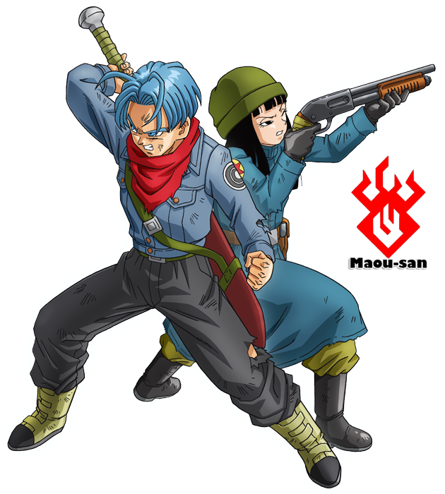 Dragonball Super Trunks y Mai