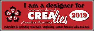 http:www.all4you-wilma.blogspot.com I am a designer for Crealies 2019