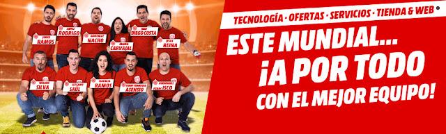 Mejores ofertas folleto Este Mundial... ¡A por todo con el mejor equipo! de Media Markt