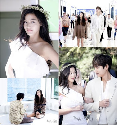 Lee Min Ho dan Jun Ji Hyun hero dan heroin drama korea legend of the blue sea