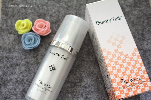 Hishop Review: Beauty Talk 3D Refining Day Cream 30ml