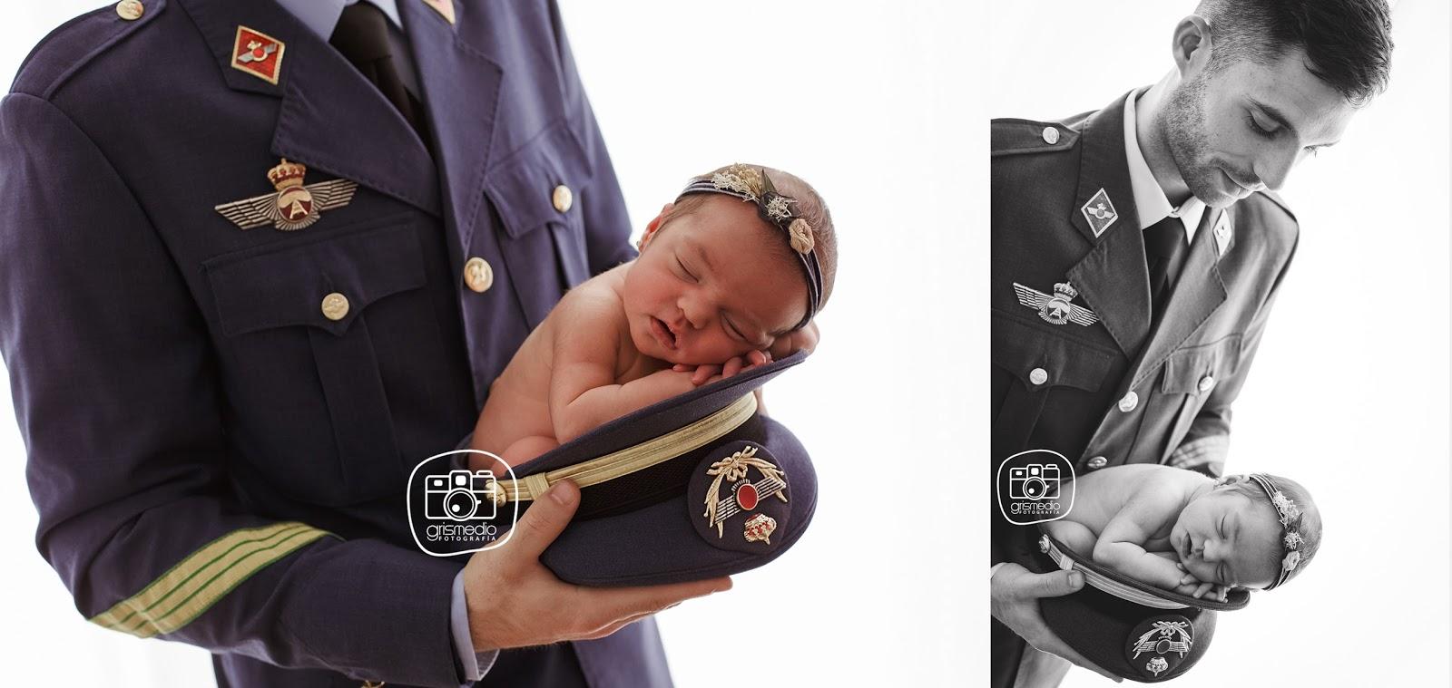 fotografia-especializada-recien-nacido-newborn-en-zaragoza-uniforme