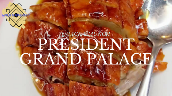 The President Grand Palace Restaurant in Binondo