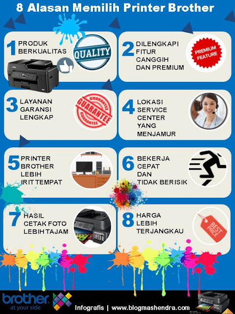 8 Alasan Memilih Printer Brother - Blog Mas Hendra