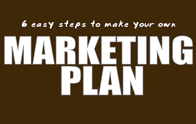 6 Easy Steps To Make Your Own Marketing Plan Infographic - how do you create a marketing plan