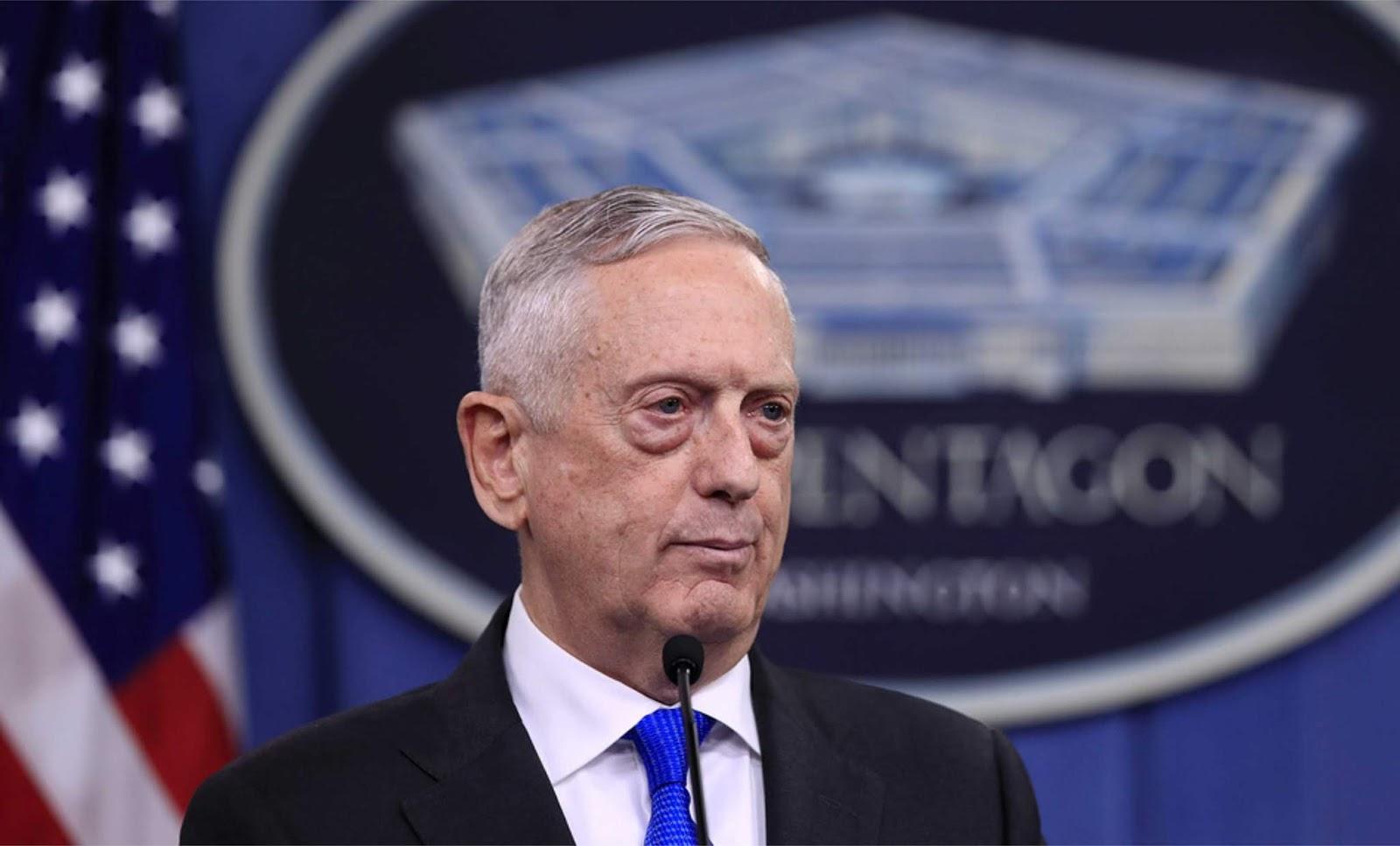 Mattis mengatakan Amerika Serikat khawatir dengan militerisasi Laut Cina Selatan