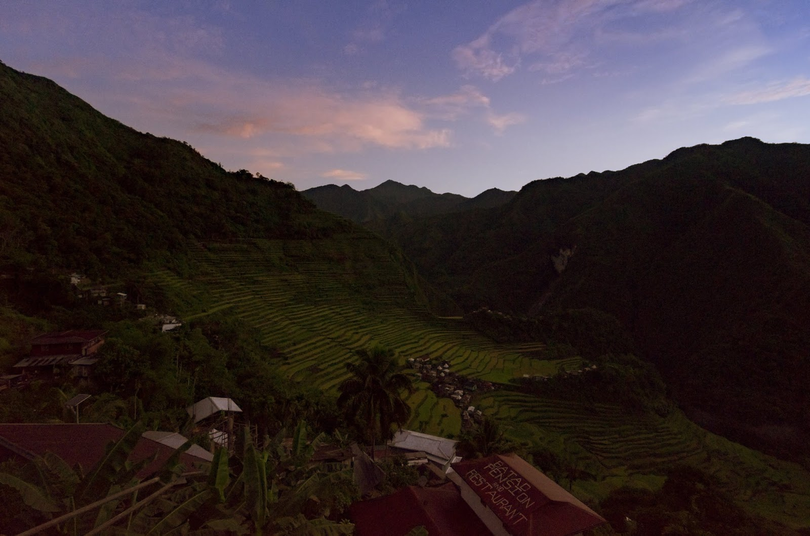 8th Wonder of the World Batad Rice Terraces Ifugao Cordillera Administrative Region Philippines Dawn