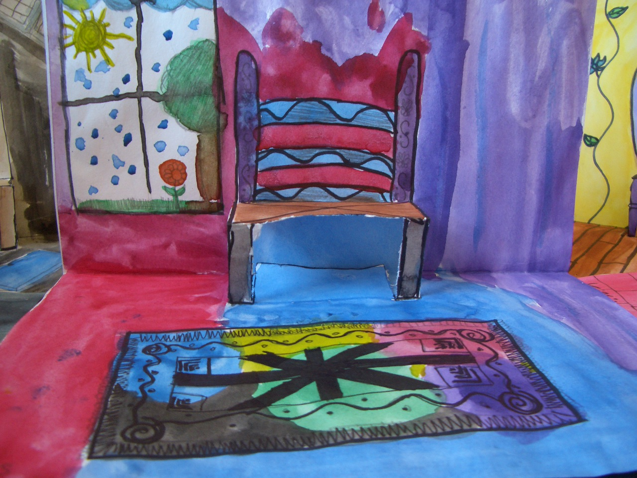 pop up chair rapunzel table and chairs tower dream draw create have a seat vincent