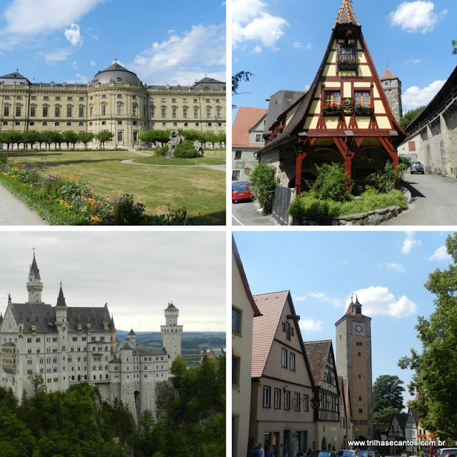 Rota Romântica Alemanha