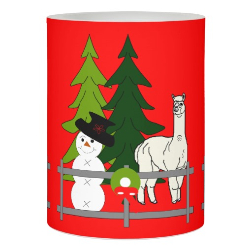 Alpacas Rock Christmas Home Decor