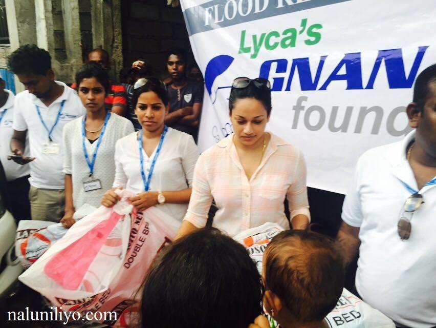 Janaki Wijerathne food donations