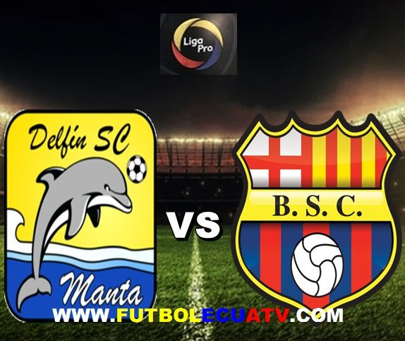 Delfín se enfrenta a Barcelona SC en vivo a partir de las 18:30 horario local a disputarse en el estadio Jocay de Manta por la fecha trece del campeonato ecuatoriano, siendo el árbitro principal Diego Lara con emisión de los canales autorizados GolTV, DirecTV Sports y CNT.