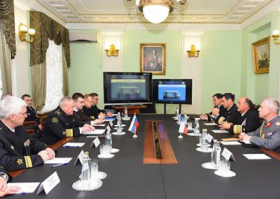 Rusia y Chile Revisan Temas de Cooperación Naval