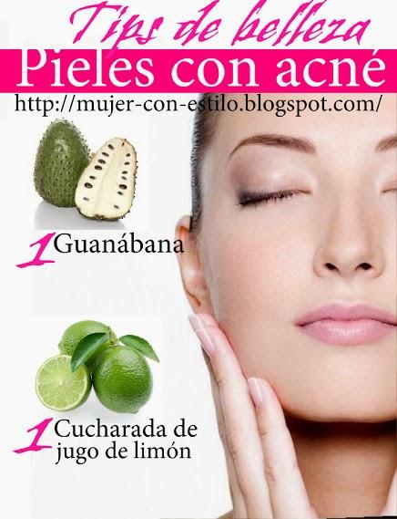 MUJER CON ESTILO: Mascarillas naturales para el acné