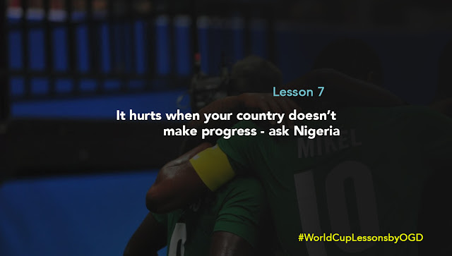 7 lessons from the World Cup by Otunba Gbenga Daniels