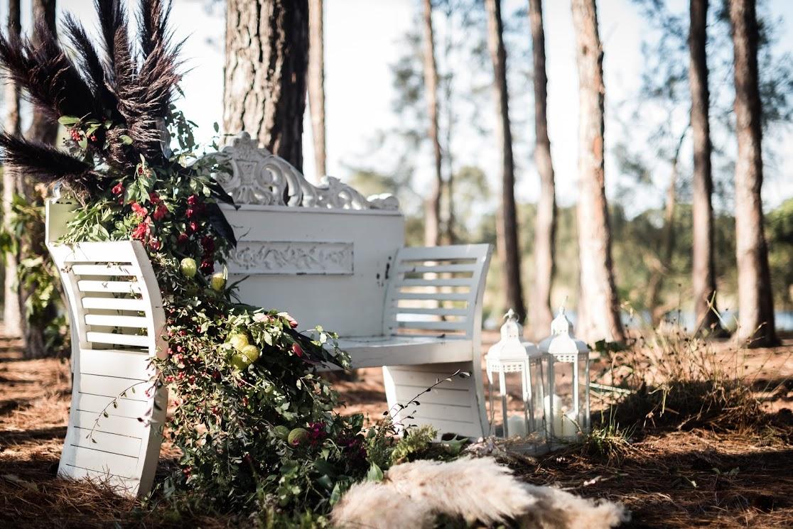 GOLD COAST FOREST ELOPEMENT STYLED INSPIRATION WEDDING SHOOT