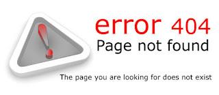 Cara Mengatasi Error 404 Page Not Found - Halaman Tidak Ditemukan