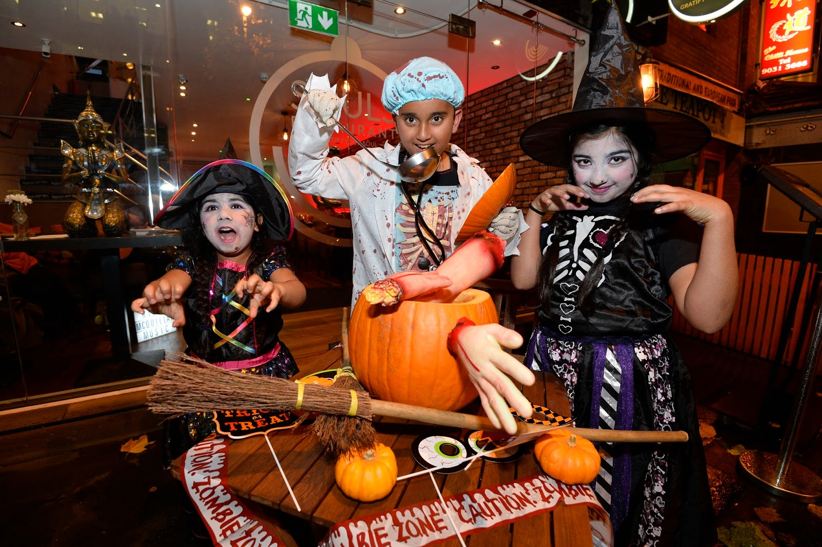 Shop Local | Halloween Menu at Souls Restaurant, Belfast