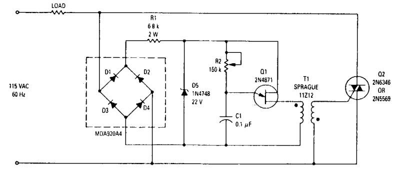 Secret Diagram: 800Watt Light Dimmer
