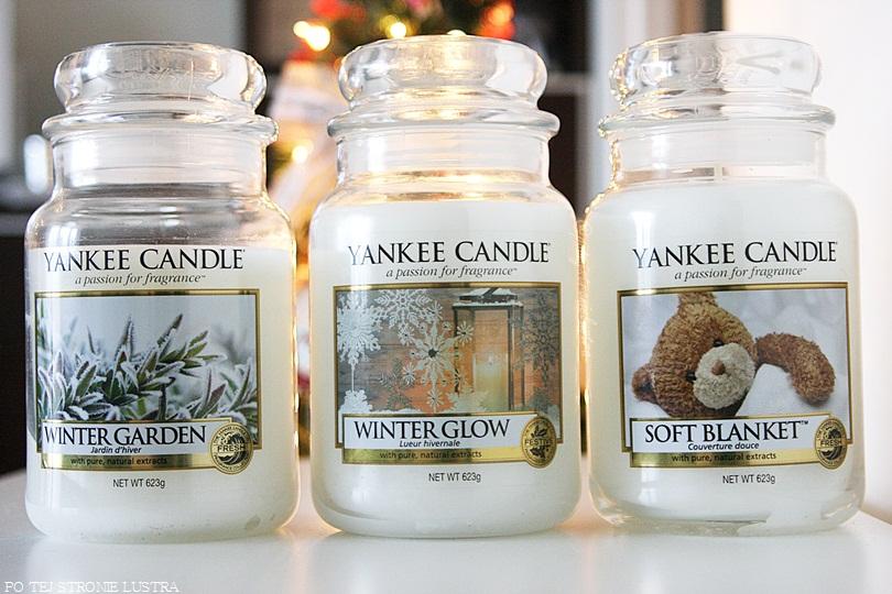 białe świece yankee candle