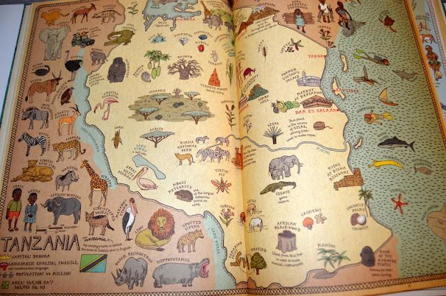 Tanzania Map Book
