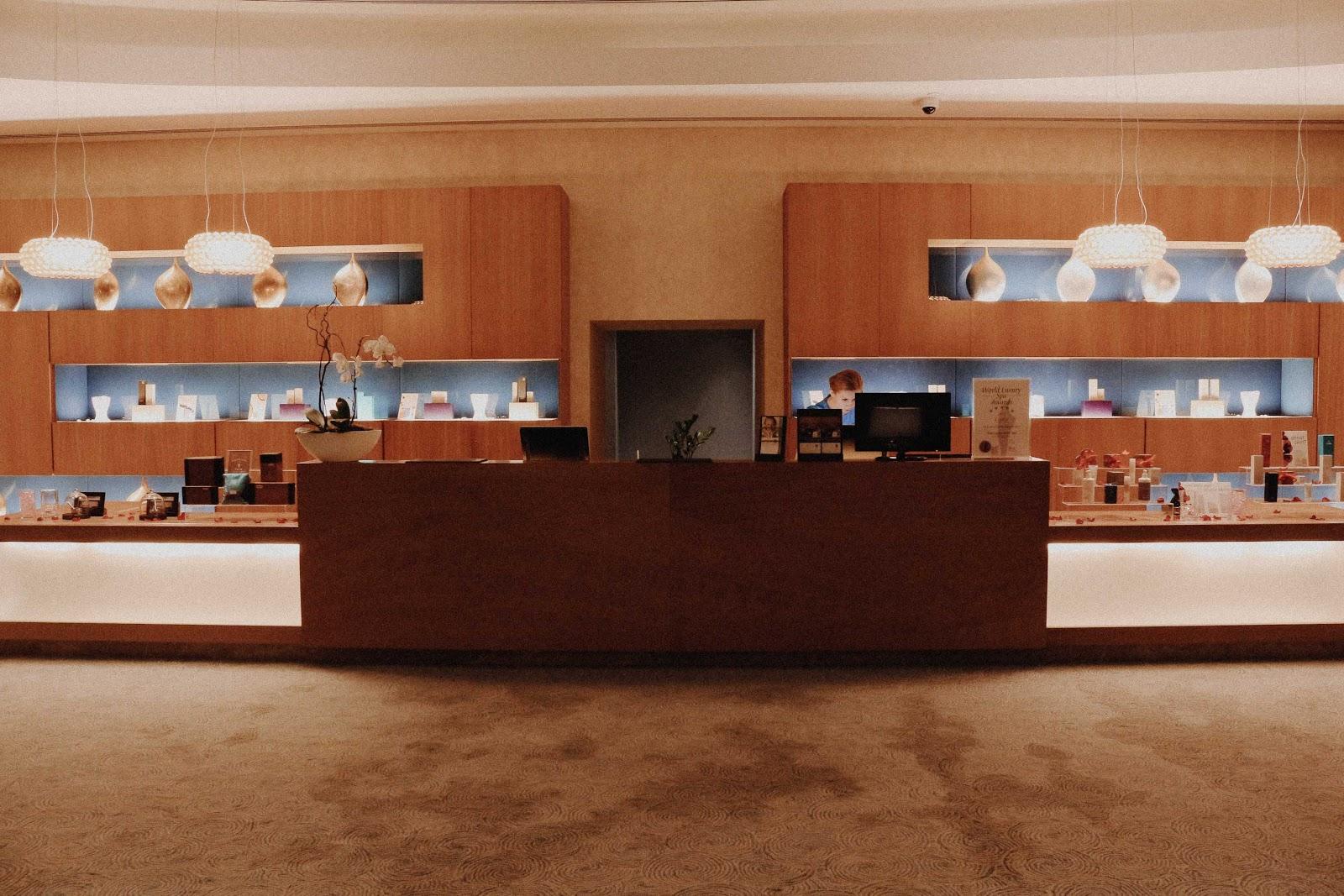 lobby of Zen The Spa in Al Ghurair Rayhaan Rotana