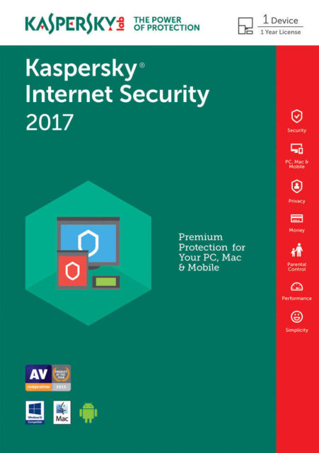 Kaspersky Internet Security 2017 Free Download Full Version