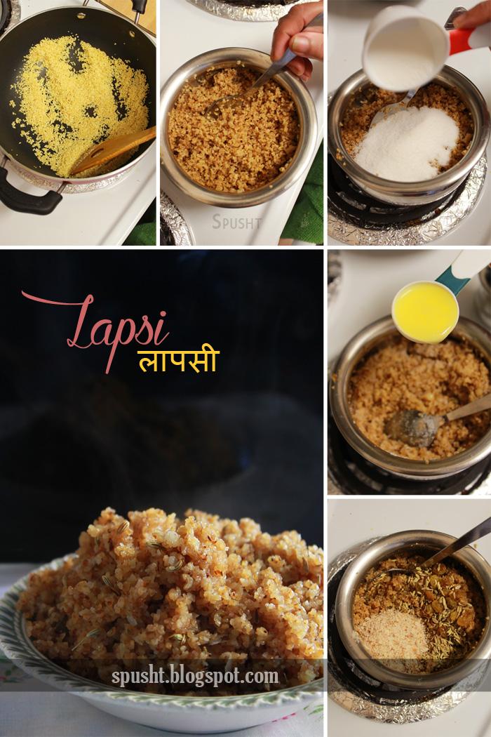 recipe for lapsi chawal kadhi rajasthani cuisine