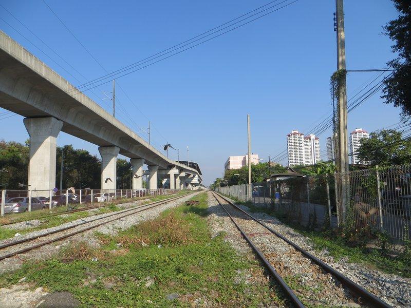 эстакада Airport Rail link Bangkok