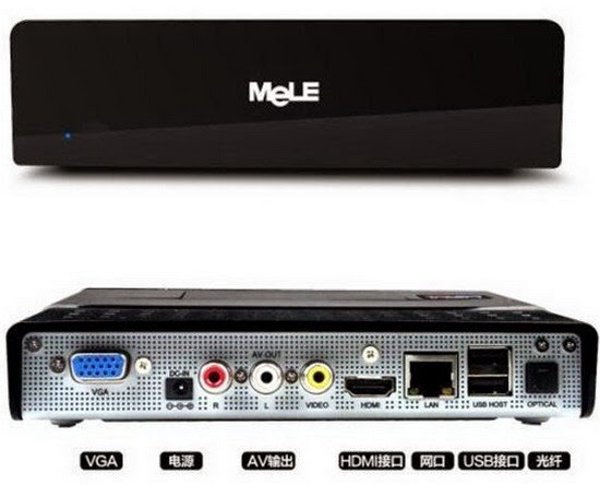 Download latest stock firmware for Mele A1000G TV Box
