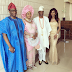 Lovely photo of former Ogun state governor, Gbenga Daniel, his wife, son & daughter