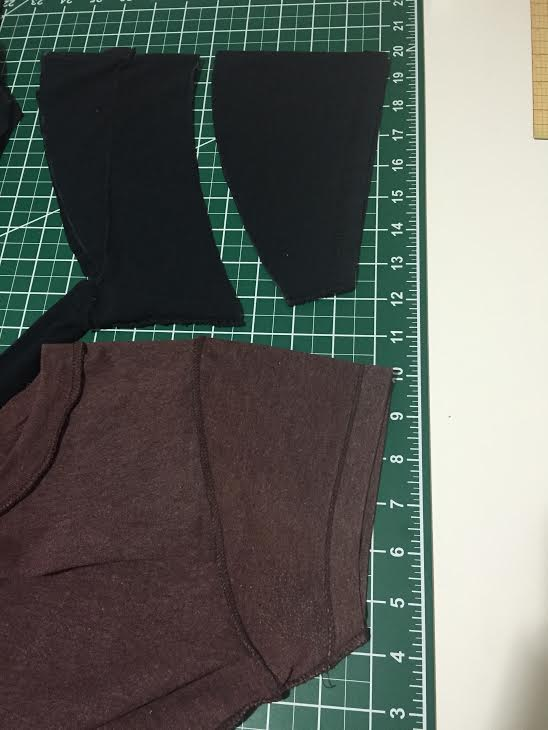 Loose Tee to Fitted Tee fashion sewing