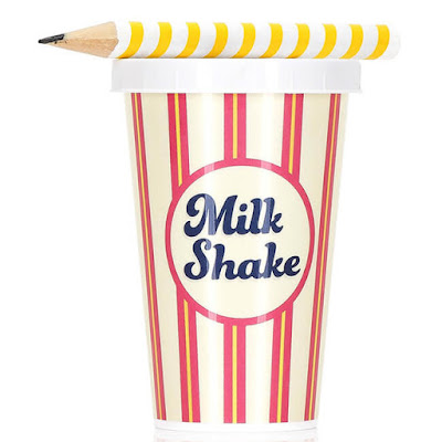 Milkshake Sharpener and Pencil