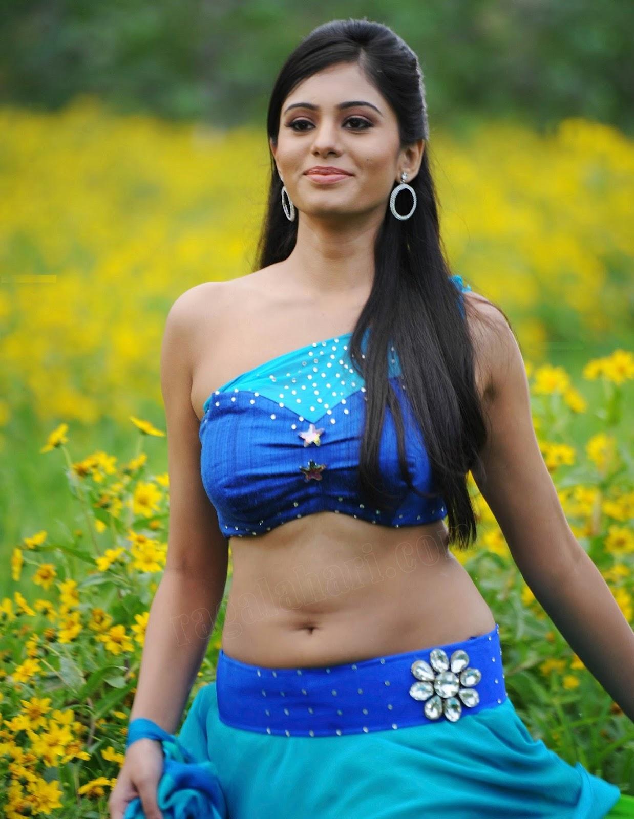 Celebrity Pics Deepa Sannidhi Hot Navel-5609