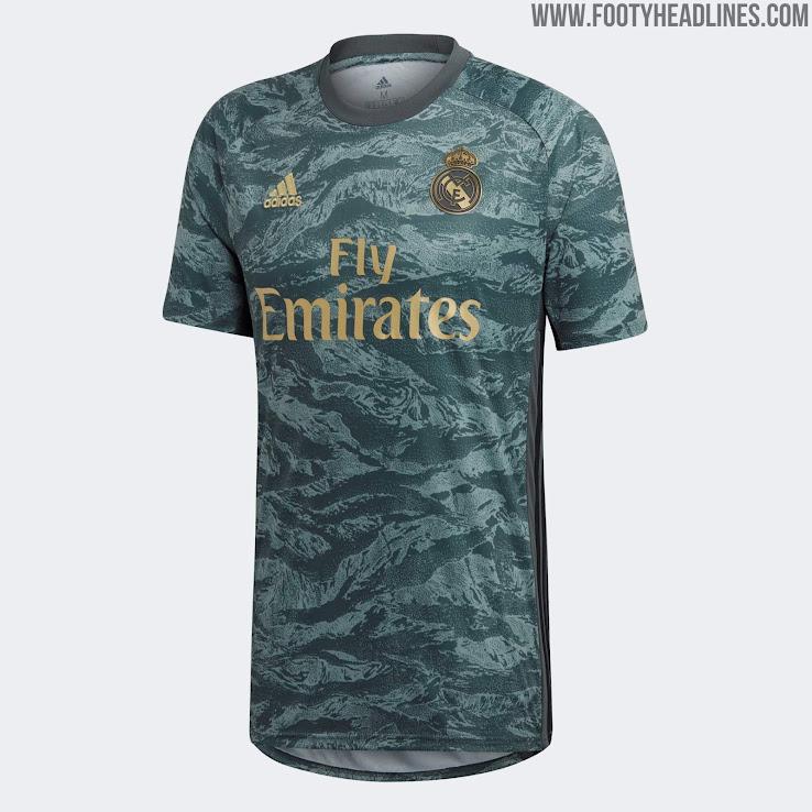 on sale 6f43d 2a058 Real Madrid 19-20 Goalkeeper Away Kit Released - Footy Headlines