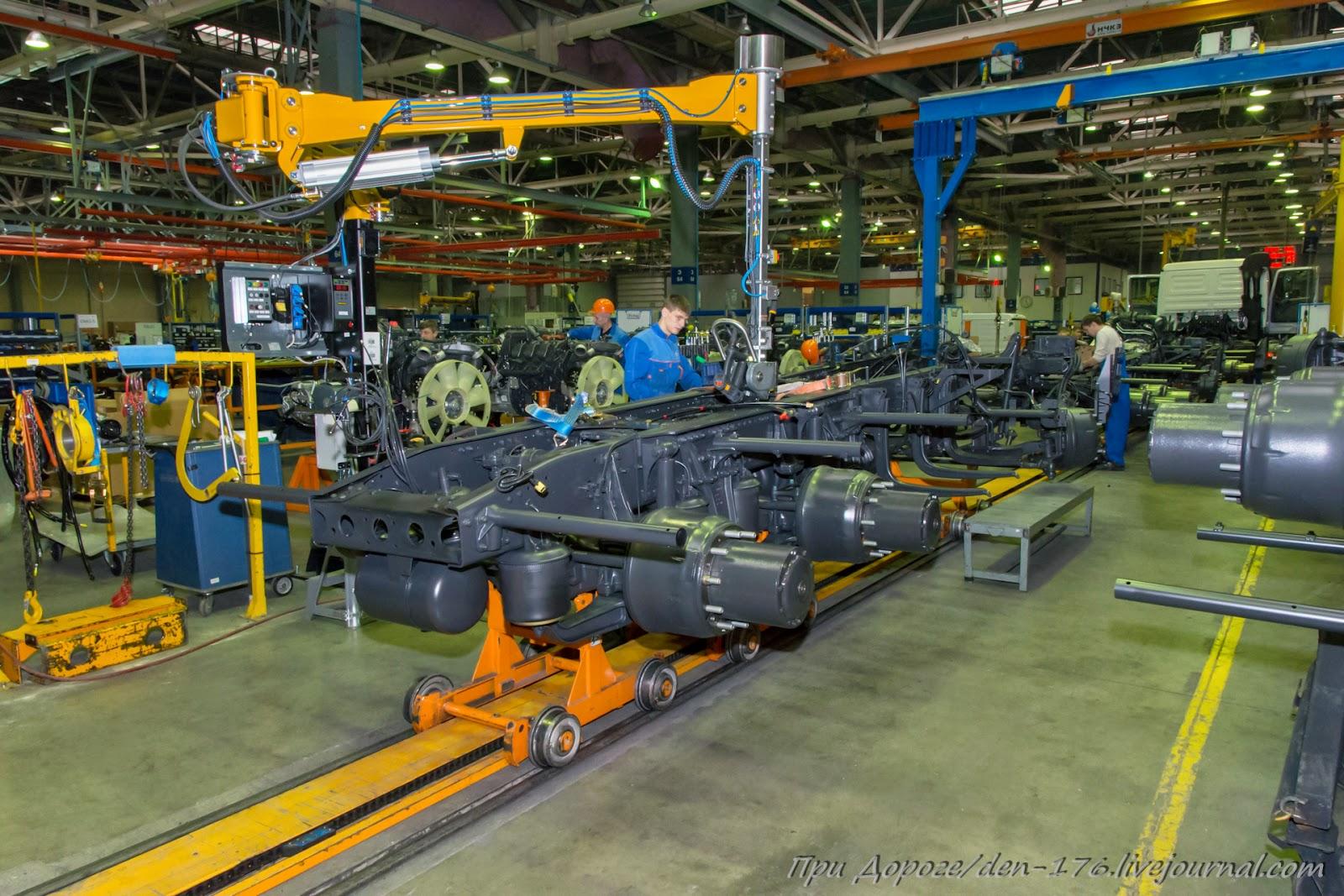 How to make MBTV 27 Mercedes Benz trucks in Naberezhnye Chelny