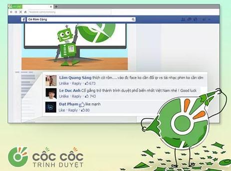 Thực hư sự việc người dùng tố Cốc Cốc ăn cắp tài khoản Facebook?