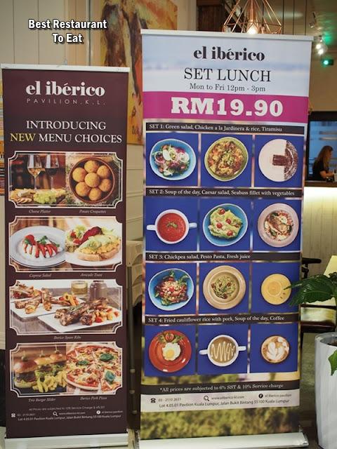 EL IBERICO PAVILION KUALA LUMPUR Brunch and Set Lunch Promotion
