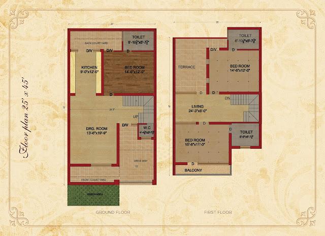 Arcadia Canadian Villas in Sunny Encalve Sector 124 Kharar, Mohali