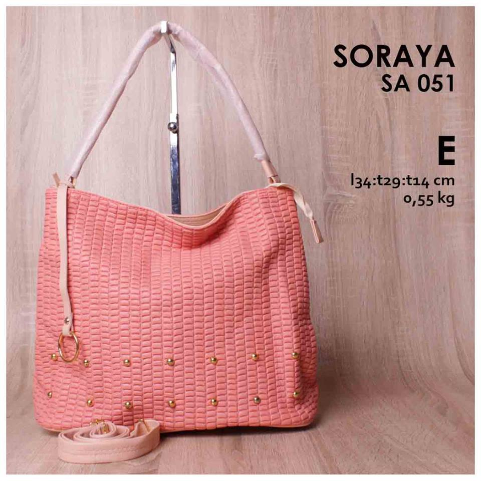 Jual Online Handbag Cantik Elegan Murah Berkualitas - Soraya SA 051