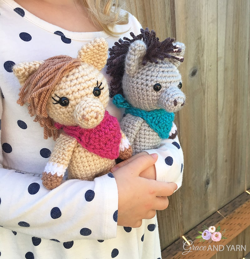 Haley the Horse Amigurumi pattern by Carolina Guzman - Ravelry | 827x800
