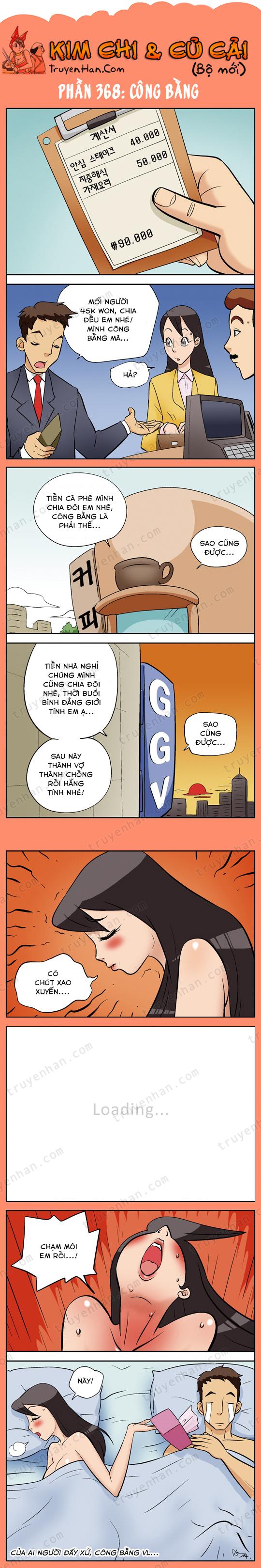 Kim Chi & Củ Cải (bộ mới) phần 368: Công bằng