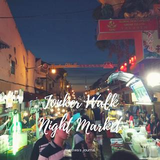 tempat wisata menarik di Melaka - Jonker Street Night Market
