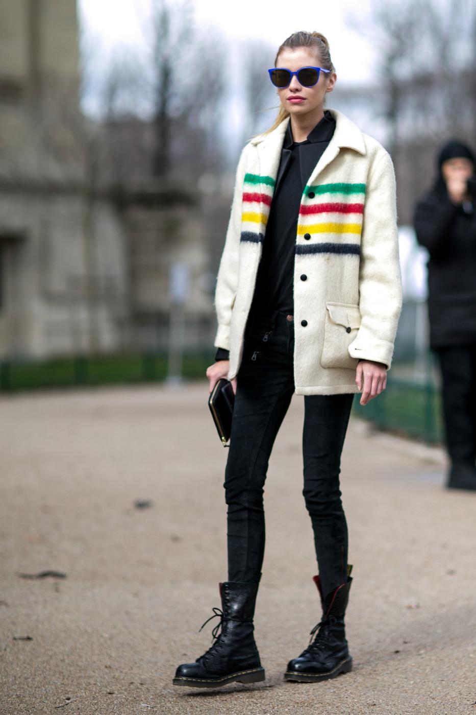 Street Style: Stella Maxwell's Fun-Loving Look
