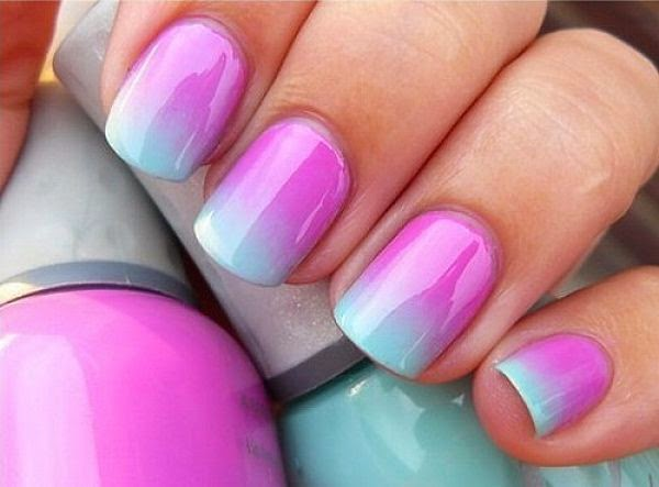 Cute easy nail designs for beginners nail art and tattoo - Easy nail polish designs to do at home ...